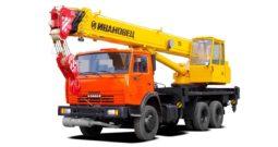 Автокран Ивановец 25 тонн на базе КАМАЗ  КС-45717K-1